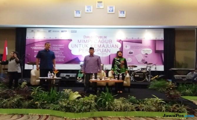 Pandangan Cawagub Lampung Untuk Kemajuan Perempuan