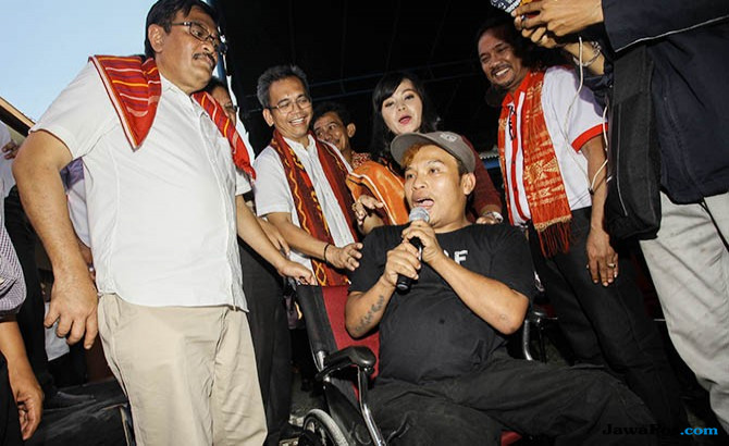 Pasangan Sihar Sitorus Prioritaskan Juga Disabilitas