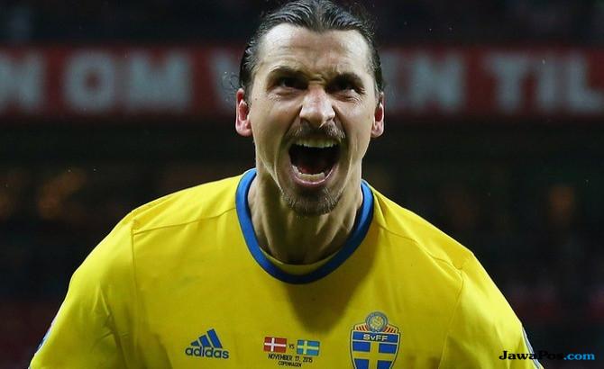 Pelatih Swedia: Tim Ini Berbeda jika Ada Ibrahimovic