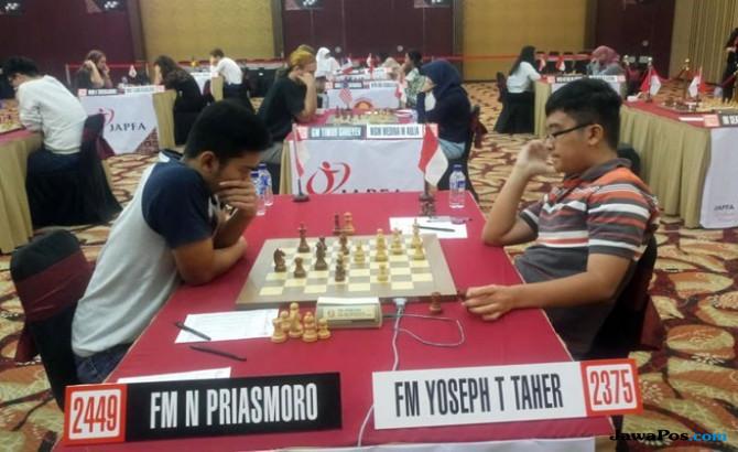 Peluang Novendra Raih Grandmaster Pupus
