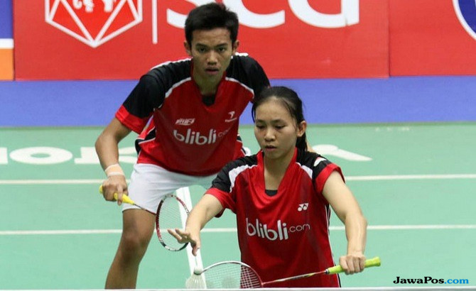 Andika Ramadiansyah/Mychelle Chrystine Bandaso, Singapura International Series 2017,