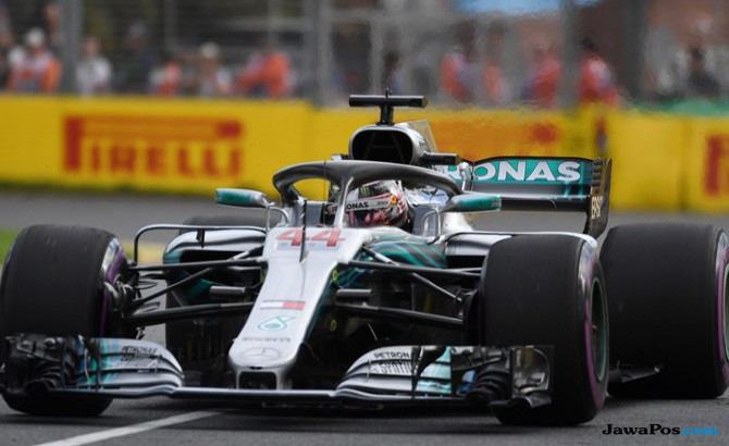 Lewis Hamilton, Pole Position, Formula 1 GP Australia