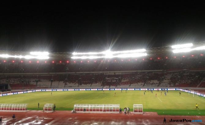 Resmikan Stadion GBK, Jokowi Nonton Indonesia vs Islandia