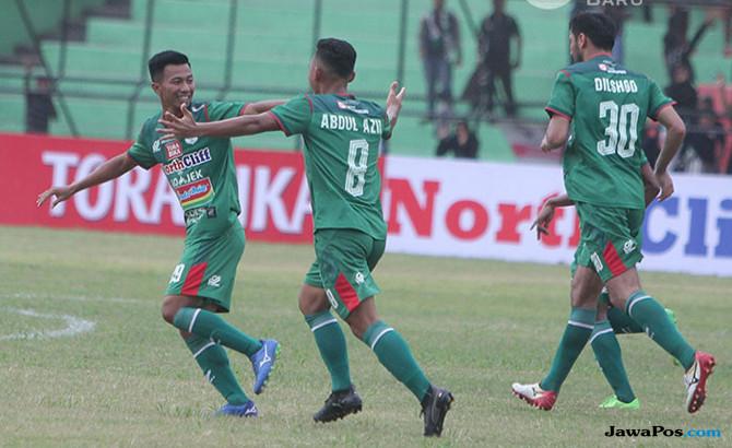 PSMS 2-0 Arema, PSMS Medan, Arema FC, Liga 1 2018, Wilfreid Yessoh