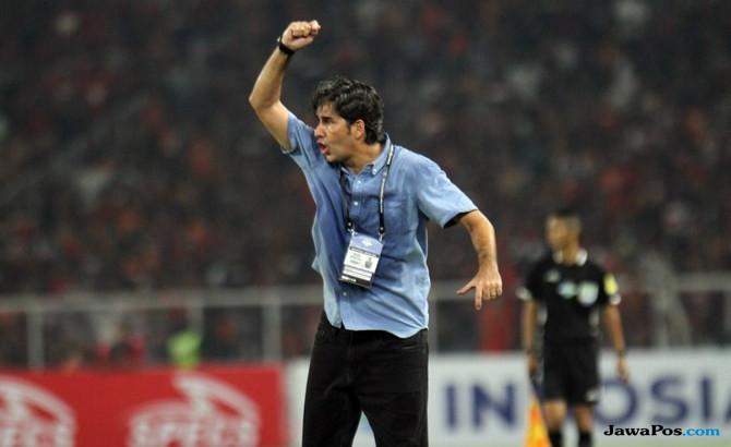 Stefano Cugurra, Teco, Persija Jakarta, Home United, AFC Cup 2018,