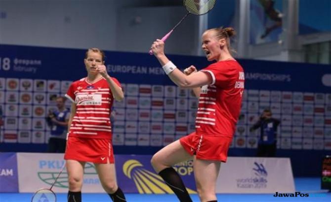 Kamilla Rytter Juhl/Christine Pedersen, Denmark, Kejuaraan Putra dan Putri Eropa Beregu 2018