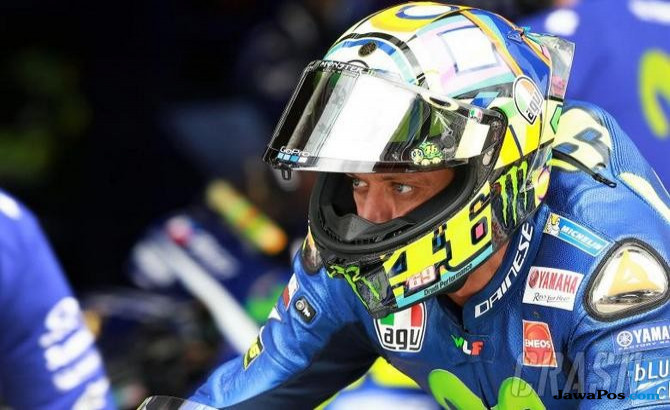 Valentino Rossi tampil di Aragon