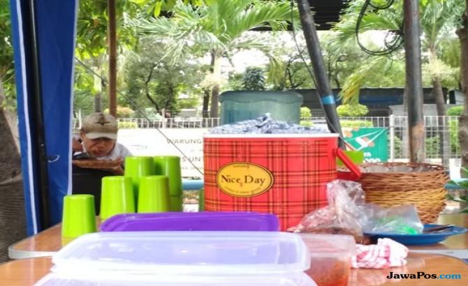 Warung Nasi Rp 3.000 di Jakarta Sepi Pembeli, Begini Keadaannya