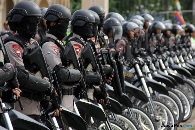2 Desa di Cirebon Mulai Tenang, Polisi Tetap Berjaga