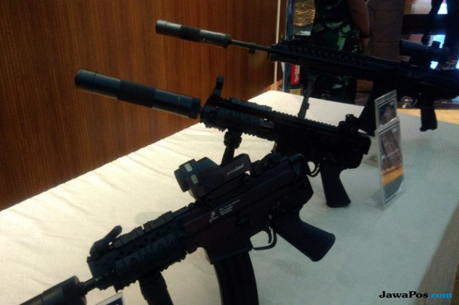 2017, Penjualan Senjata Pindad Tembus Rp 53 Triliun