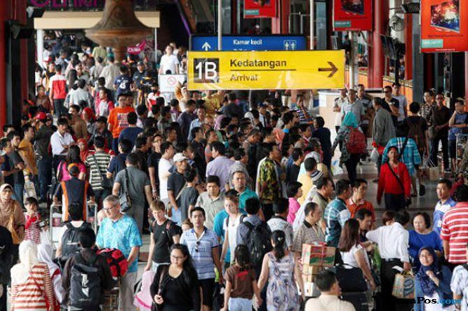 2018, Penumpang di Bandara Soekarno-Hatta Diprediksi Tembus 67 Juta