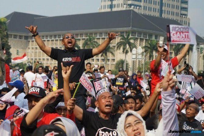 #2019GantiPresiden Ditolak Dimana-mana, Ma'ruf Amin Angkat Suara