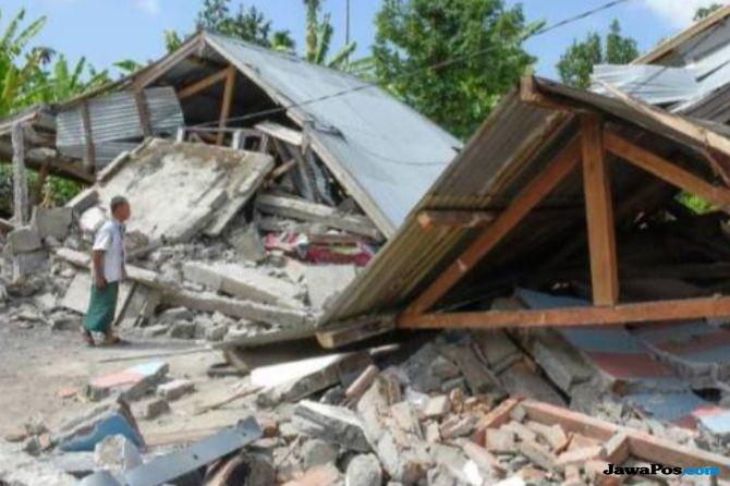 318 Gempa Susulan Terjadi di Lombok, BNPB: Itu Alamiah