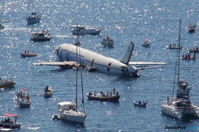Tenggelamkan Airbus A300 untuk Wisata Selam