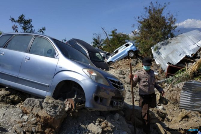 36 ASN Meninggal Dalam Bencana Gempa dan Tsunami Sulteng