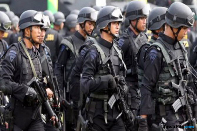 Kejar Pengikut Santoso, Polda Gorontalo Perketat Wilayah Perbatasan