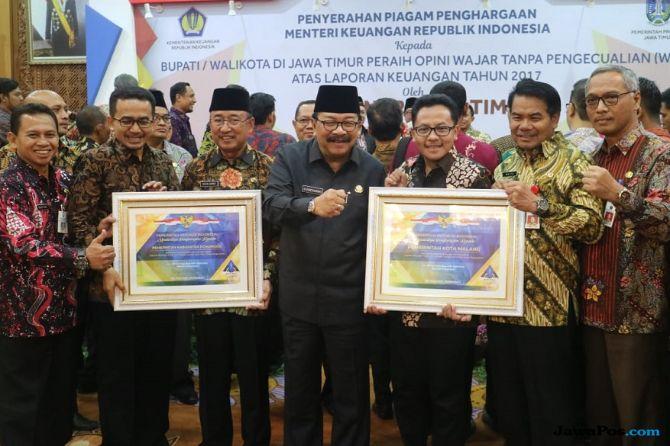42 Anggota DPRD Korupsi, Kota Malang Tetap Raih WTP dari Kemenkeu