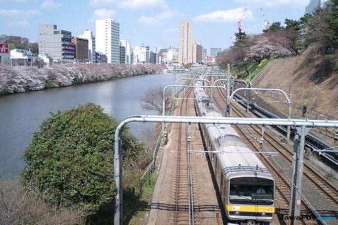 5 jalur kereta api terpadat di tokyo