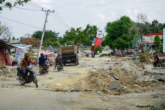 5.000 Orang di Balaroa dan Petobo Diperkirakan Tertimbun Jalan Amblas