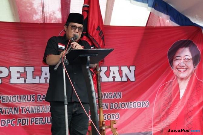 Abidin Fikri Didapuk Jadi Plt DPC PDI Perjuangan Bojonegoro