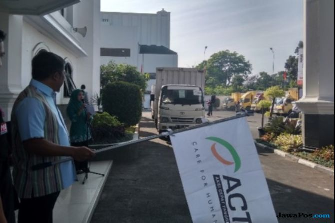 ACT Bantu Logistik Hingga Fase Recovery Gempa Lombok