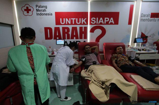 Ada Gempa Lombok, Pendonor Darah di PMI Meningkat 50 Persen