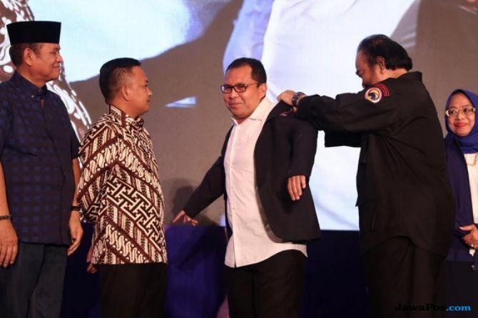Akhiri Puasa Politik, Wali Kota Makassar Gabung NasDem