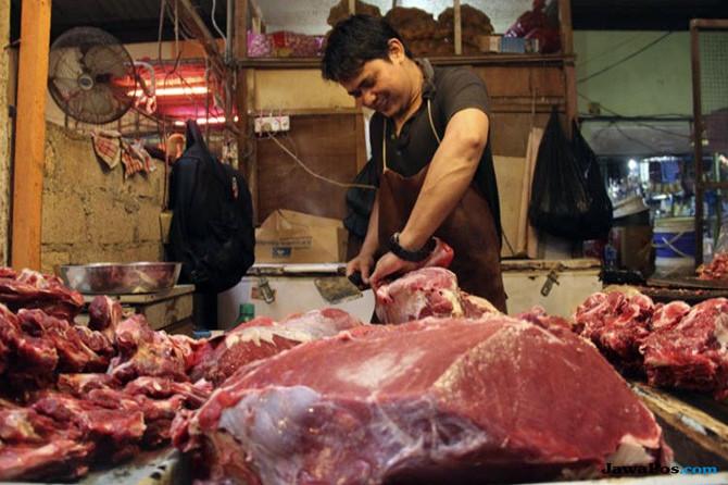Akhirnya Warga Pekanbaru Bisa Nikmati Daging Murah