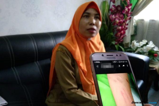 Aksi Sayat Tangan Siswa SMPN 18 Pekanbaru Terungkap Setelah Razia HP