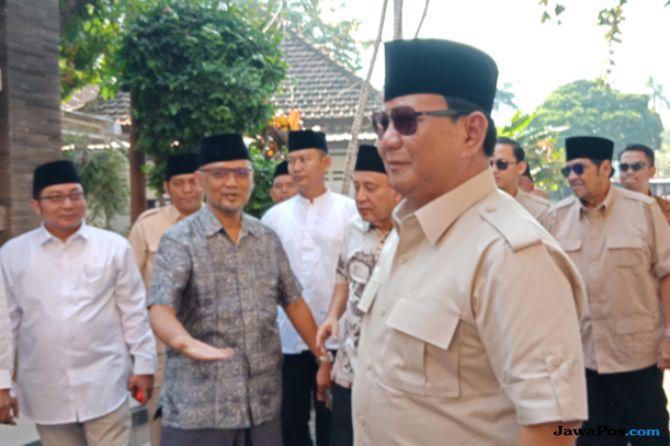Akui Butuh Suara NU, Prabowo: Dari Dulu Saya Sahabat Gus Dur