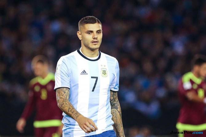 Piala Dunia 2018, Timnas Argentina, Inter Milan, Mauro Icardi
