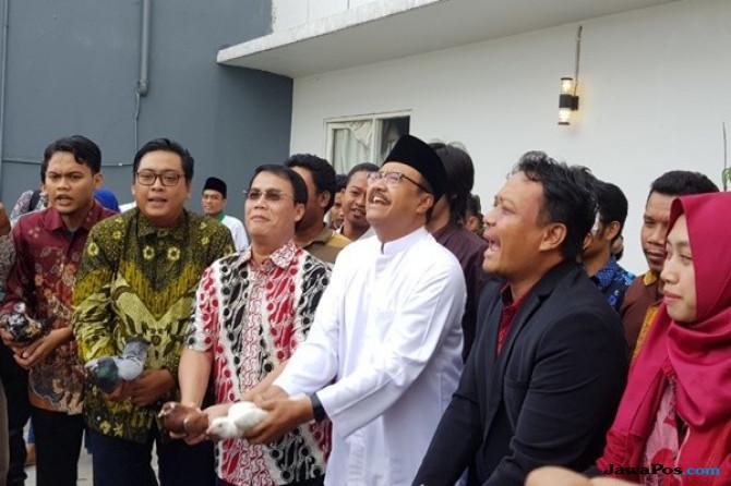 Alumni GMNI Deklarasikan Untuk Menangkan Gus Ipul-Mbak Puti