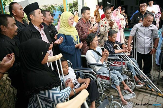 Alumni Tambakberas dan Penyandang Disabilitas Doakan Khofifah