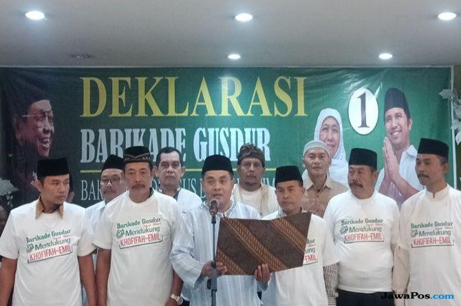 Amankan TPS, Barikade Gus Dur Jatim Keluarkan Instruksi