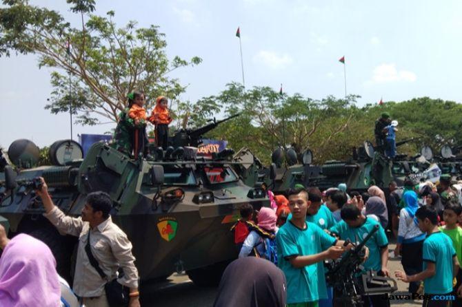 Angkut Bantuan, Atraksi Pesawat Hercules Absen Diperayaan HUT TNI
