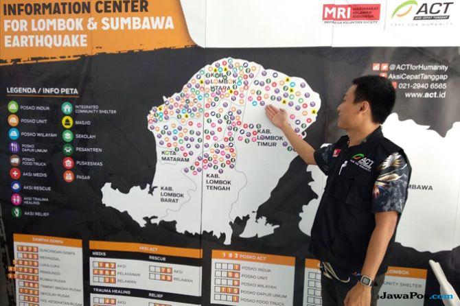 Antisipasi Hoax di Lokasi Bencana, ACT Siapkan Pusat Informasi