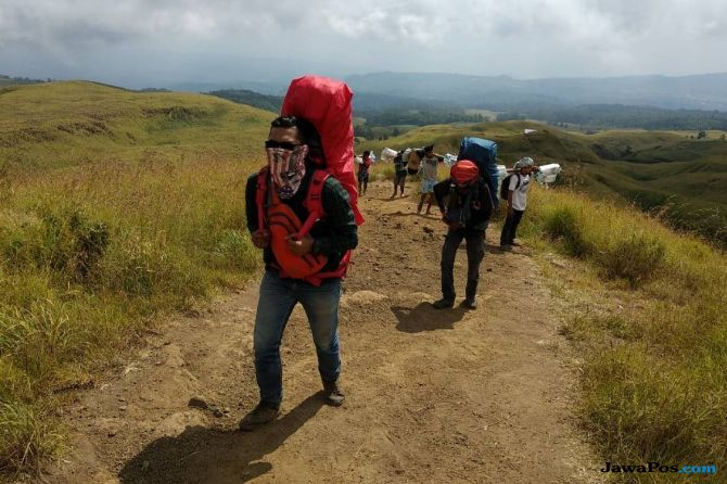Antisipasi Kesulitan Pendataan, Pendaki Gunung Rinjani Booking Online