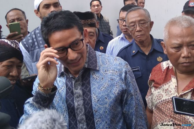 Apresiasi Penanganan Bencana Jogja, Sandi Dapat Pesan dari Sri Sultan
