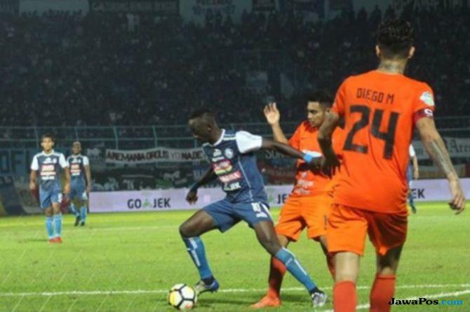 Arema FC, Borneo FC, Liga 1 2018, Makan Konate, Matias Conti