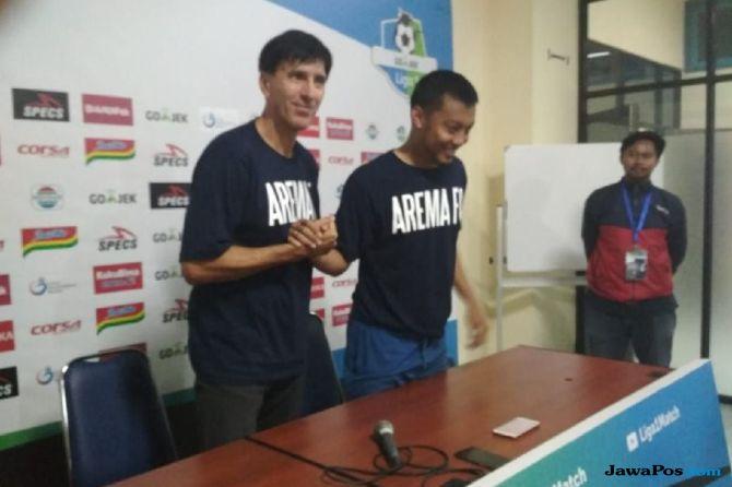 Arema FC, Persebaya Surabaya, Liga 1 2018, Aremania, Hamka Hamzah