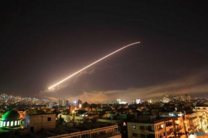 AS Klaim Target Rudalnya Tepat di Jantung Program Senjata Kimia Syria
