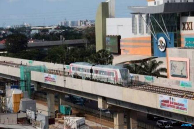 Asian Games, LRT Kelapa Gading-Velodrome Hanya Operasikan 2 Stasiun