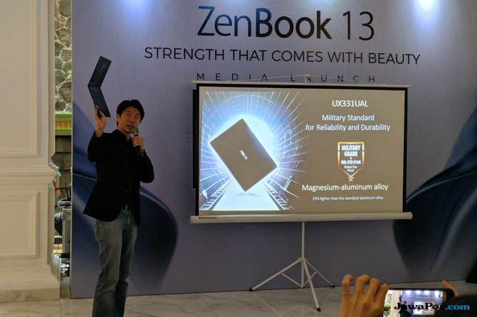 Yulianto Hasan, Asus Indonesia, Laptop Asus Zenbook