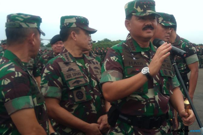 Atasi Karhutla, Panglima TNI: Kami Serang Lewat Udara dan Darat