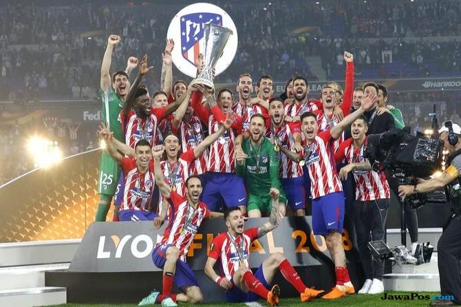 Atletico Madrid, Olympique Marseille, Liga Europa, Europa League,