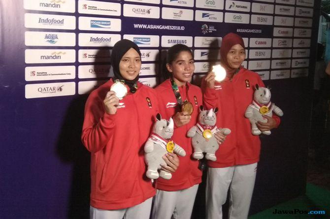 Asian Games 2018, Panjat Tebing, Indonesia, Medali Emas, Aries Susanti Rahayu