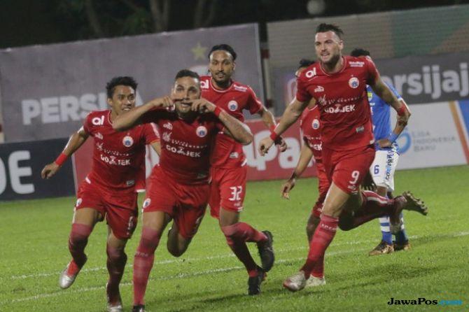 Persija Jakarta, PSMS Medan, Liga 1 2018,