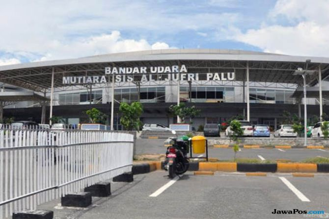 Bandara Mutiara Sis Al Jufri Kembali Dibuka Untuk Penerbangan Darurat