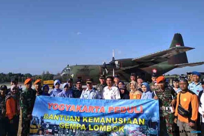Bantu Korban Gempa, Kursi Roda Dikirim ke Lombok