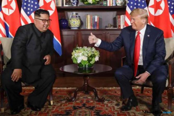 Banyak Politisi Sarankan Trump dan Kim Dianugerahi Nobel Perdamaian